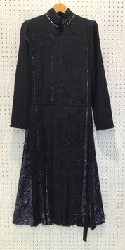Harikae Mirror printed dress