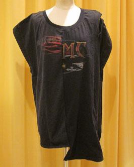 オープンショルダーレイヤードネックTシャツ ②(harley)