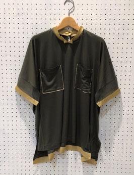 Harikae Square T-shirt (Khaki)