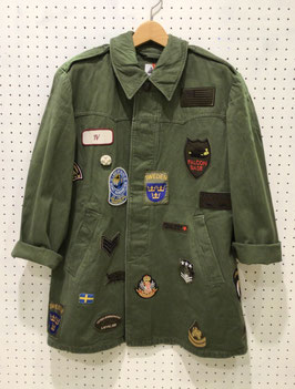 YuumiARIA PATCHWORK MILITARY  JACKET ⑤