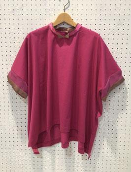 Harikae Squre T-shirt (pink)