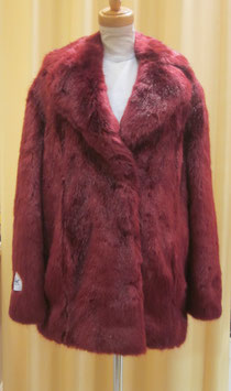 Jakke HEATHER (RUBY RED LUXE FUR)
