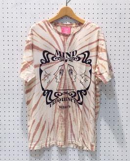 ONETEASPOON MOBLCKプリントTIE DYE Tシャツ