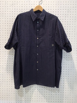NAKAGAMI Stripe Shirt