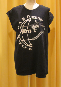 オープンショルダーレイヤードネックTシャツ   ③ (concert)
