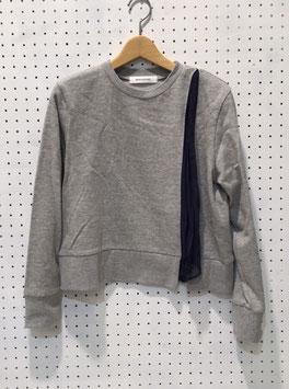 NAKAGAMI シフォンプルオーバー(light gray)