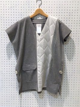 Harikae Vneck square top (L/gray)
