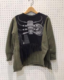 Yuumi ARIA MILITARY T-shirt SWEAT TOPS ①