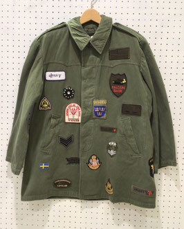 YuumiARIA PATCHWORK MILITRY JACKET ②