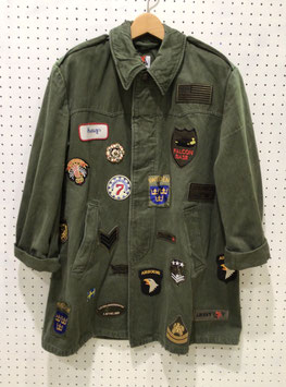 YuumiARIA PATCHWORK MILITARY JACKET ③