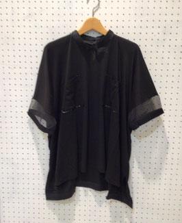 Harikae Square T-shirt (Black)