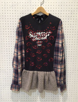 YuumiARIA NEL CHECK T-shirt ②