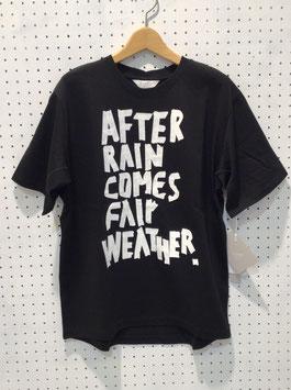 FORMO メッセージTシャツ(black)