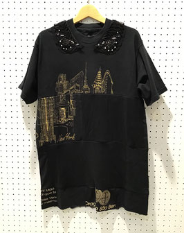 Yuumi ARIA パッチワークTシャツ ③