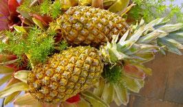 Feines Ananas-Püree