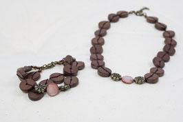 Halskette Mittel & Armband
