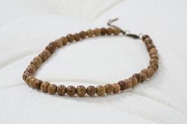 Halskette Holzkugeln