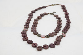 Halsketten Set Lang & Mittel