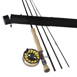 Fliegenruten Set IM12 +NANO #7-#8-#9-#10