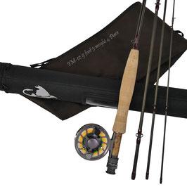 Fliegenruten Set IM12 +NANO #3-#4#-#5-#6