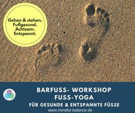 Barfuß-Workshop - Gesund und richtig gehen lernen - Sa, 14.9., 14.00-17.00 Uhr