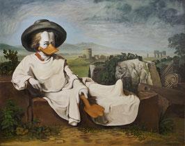 """Poster """"Goethe in der römischen Campagna"""""""