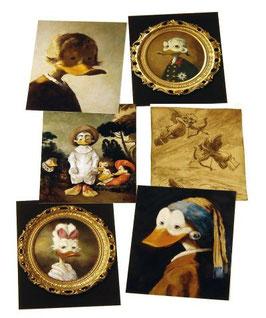 Postkartenset mit 6 Karten / Set #5