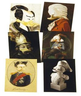 Postkartenset mit 6 Karten/ Set #11