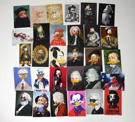 Postkartenset mit 30 Karten / Set #1