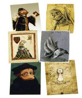 Postkartenset mit 6 Karten / Set #3