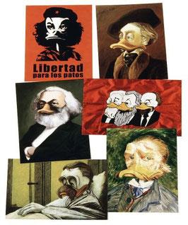 Postkartenset mit 6 Karten / Set #12