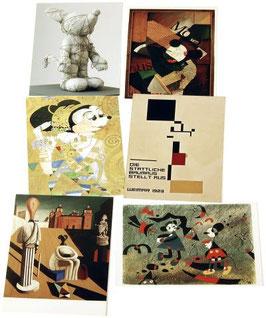 Postkartenset mit 6 Karten / Set #14