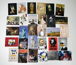Postkartenset mit 30 Karten / Set #3