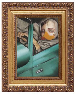"""""""Tamara im grünen Bugatti"""""""