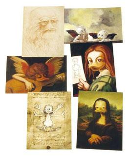 Postkartenset mit 6 Karten / Set #4
