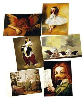 Postkartenset mit 6 Karten / Set #6