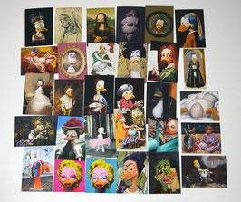 Postkartenset mit 30 Karten / Set #2