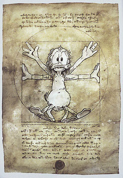 "Poster ""Anas mensura Mundi"""