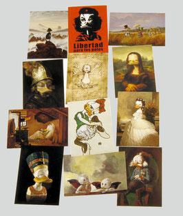 Postkartenset mit 12 Karten / Set #3