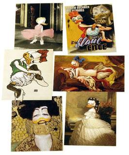 Postkartenset mit 6 Karten / Set #10