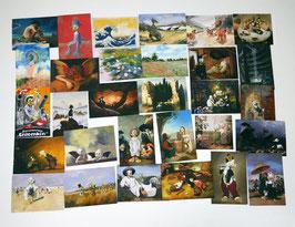 Postkartenset mit 30 Karten / Set #4