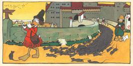 "Postkarte ""Rattenfänger"""