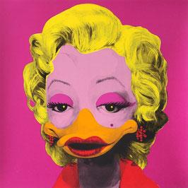 "Original-Siebdruck ""Dandy Borehole - Marta Mortenson, pink"""