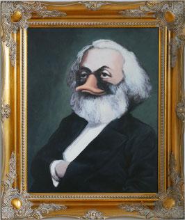 """Replik """"Portrait des Ökonomen Karl Ducks"""""""
