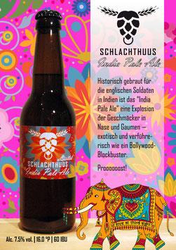 Schlachthuus Limited: India Pale Ale - Flasche 33cl