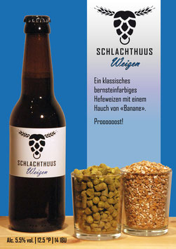 Schlachthuus Weizen - Flasche 33cl