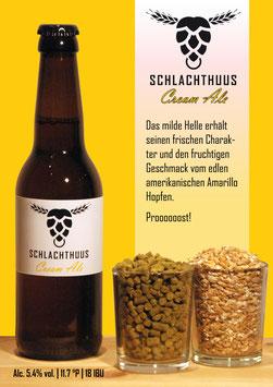 Schlachthuus Cream Ale - Flasche 33cl