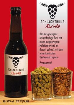 Schlachthuus Red Ale - Flasche 33cl