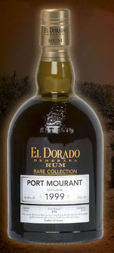 El Dorado Port Mourant 1999, 70 cl.  61,4 Vol.%