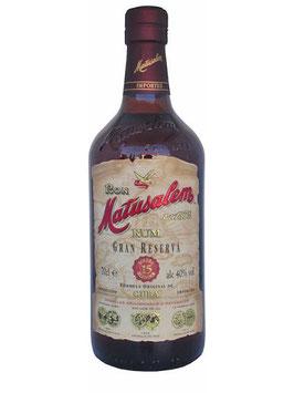 Rum Matusalem 15y  40% Vol. 70 cl.